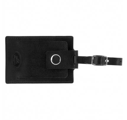 Mancini Leather Luggage Tag