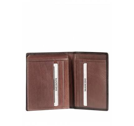 Mancini Men'S Unique Vertical Wing Wallet RFID Secure