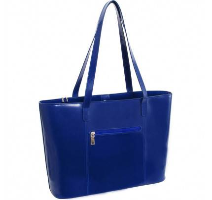 McKlein USA Alyson Leather Ladies Tote  with Tablet Pocket