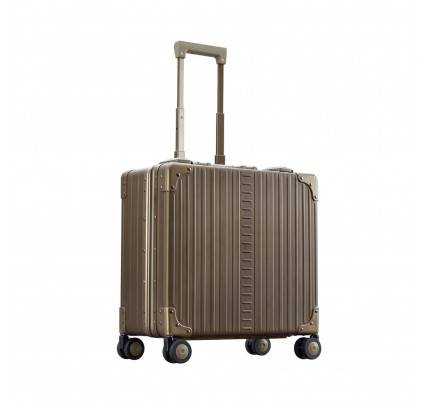 Aleon Deluxe Wheeled 17 Business Case Platinum view 2