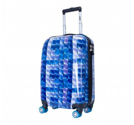 ATM 3D Blue Collection 2pc Rolling Luggage Set 6004