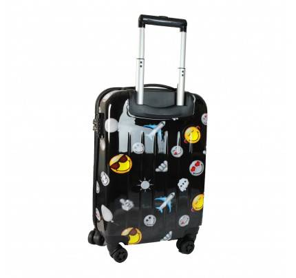 """ATM Smiley World Happy Travel 22"""" Carry - on Luggage"""