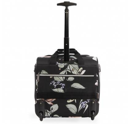 Bebe Valentina Under the seat Carry-on Rolling Tote Bag