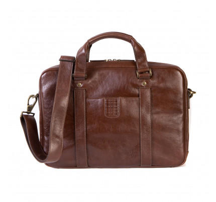 Boconi Becker Zip BriefCase