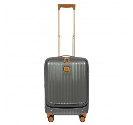"Bric's Capri 21"" Spinner Luggage with Pocket"