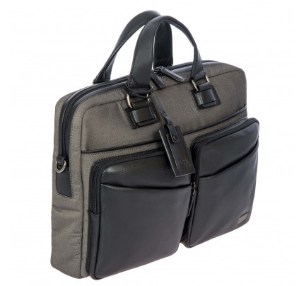 Bric's Monza Briefcase 1 Garment 2 Handle Backpack