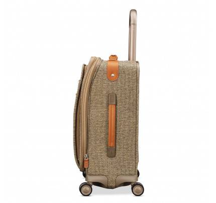 Hartmann Tweed Legend Softside Domestic Carry On Expandable Spinner Luggage