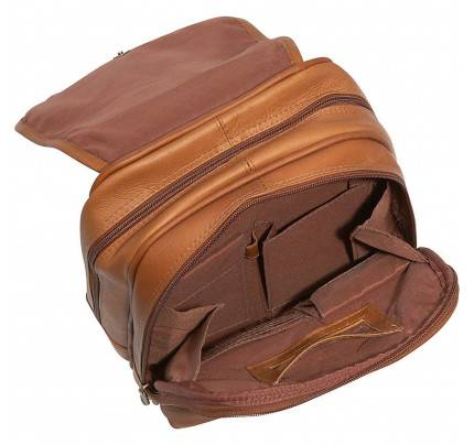 Ledonne Leather Everything Womans Backpack