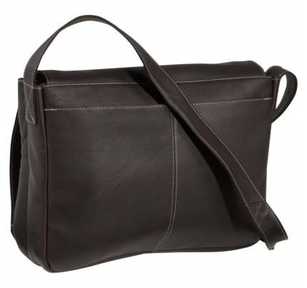 Ledonne Leather Full Flap Computer Messenger Bag