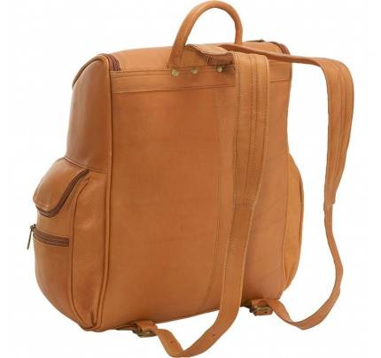 Ledonne Leather Laptop Backpack