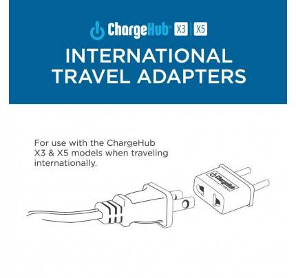 The Charge Hub International Travel Adapter for Charge Hub X3 & X5