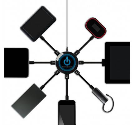 The Charge Hub X7 Super Value Pack 7-Port USB Super Charger