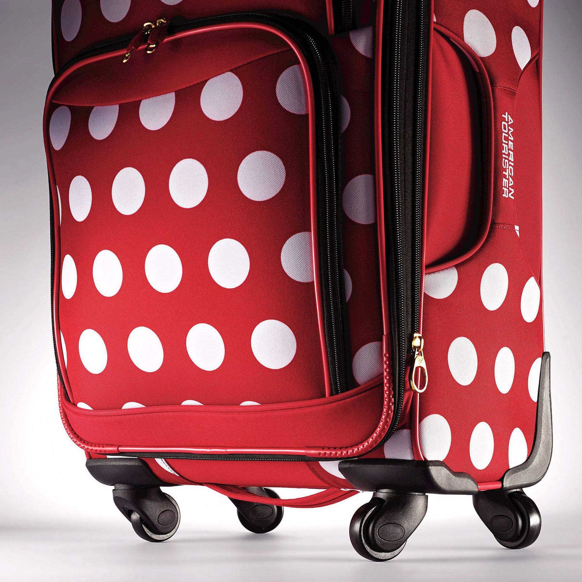 ... Samsonite American Tourister Disney Minnie Mouse 21 Spinner 67614View 5  ... 91e07ad0c6a3a